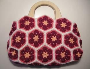 Makerist - African Flower Tasche - 1