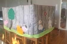 Makerist - Spielzelt Tischhusse für eine Kindergartengruppe  - 1