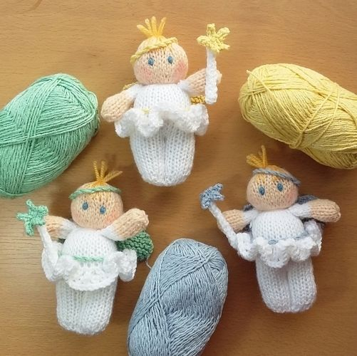 Makerist - Fairy dolls - Knitting Showcase - 2