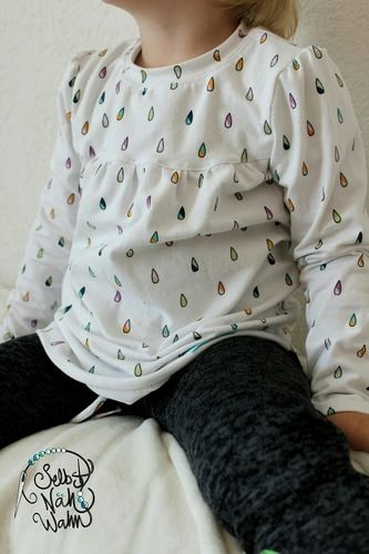 Makerist - Noch ein Girly-Shirt - Nähprojekte - 1