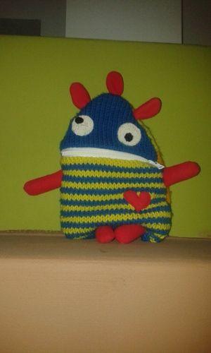 """Makerist - Linus' """"Angstfresserchen"""" - Strickprojekte - 1"""