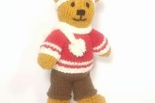 Makerist - Christmas Bitsy Boy Teddy - 1