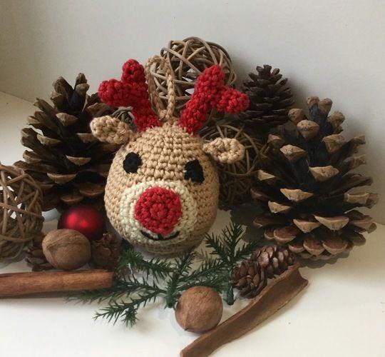 Makerist - Boule de Noël au crochet Tuto gratuit - Créations de crochet - 1