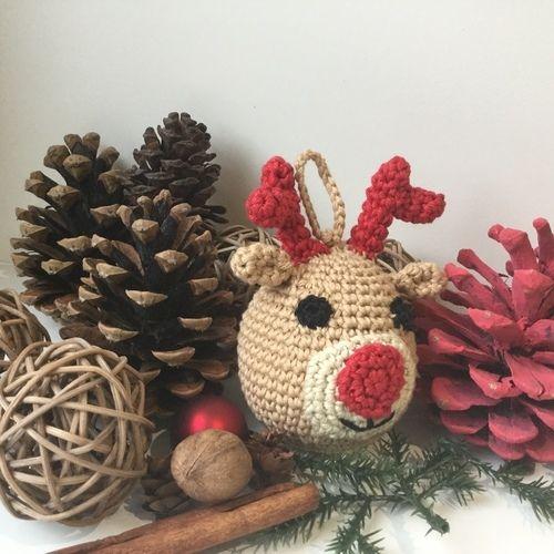 Makerist - Boule de Noël au crochet Tuto gratuit - Créations de crochet - 2