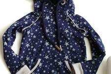 Makerist - Hoodie Himmlischer Vince aus Sternen-Sweat - 1