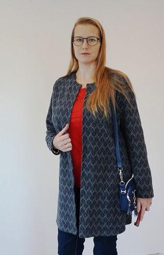 Makerist - Mantel, Jeans und Tasche - Nähprojekte - 1
