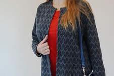 Makerist - Mantel, Jeans und Tasche - 1