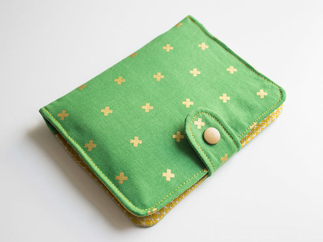 Makerist - The green wallet - Sewing Showcase - 1