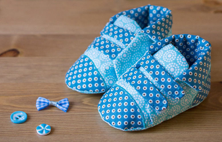 Makerist - Cute baby shoes - Sewing Showcase - 1