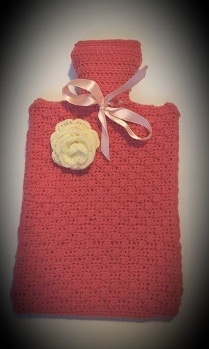 Makerist - cosy hot waterbottle cover - Créations de crochet - 1