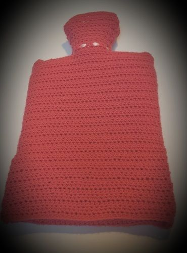 Makerist - cosy hot waterbottle cover - Créations de crochet - 2