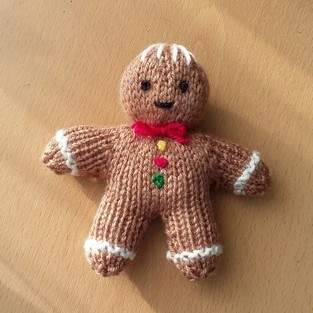 Makerist - gingerbread man - 1