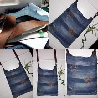 """Makerist - ❤ CHOBE❤ wie aus meine alten jeans und Tasche eine """"neue Tasche"""" würde - 1"""