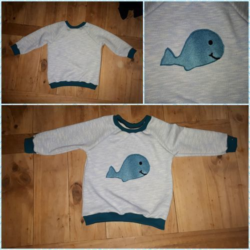 Makerist - Wal hoodie  - Nähprojekte - 1