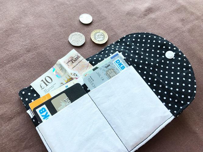 Makerist - Mini-Geldbörse Hanna mit Verzierung - Nähprojekte - 2