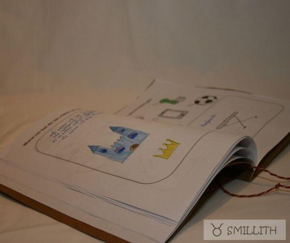 Makerist - Oma- Opa- Buch - zum Ausdrucken mit Bastelanleitung von mīn ziarī  - Werkzimmer - 2