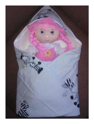 Makerist - Babydecke mit Kapuze - Nähprojekte - 1