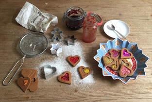 Makerist - Weihnachtsplätzchen aus Filz gefüllt mit Marmelade - 1
