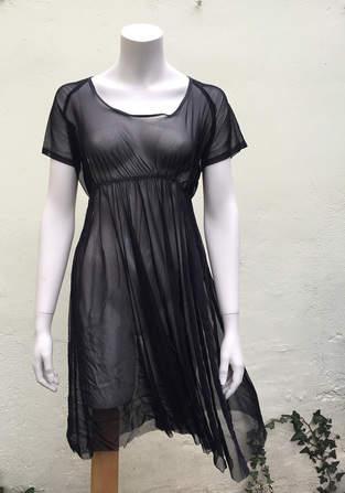 ein Schnittmuster für ein Kleid abwandeln