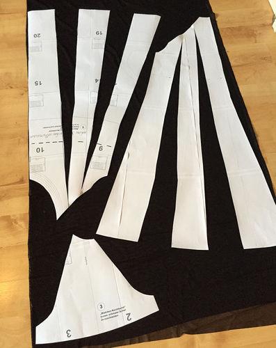 Makerist - ein Schnittmuster für ein Kleid abwandeln - Nähprojekte - 3