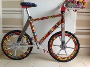 Makerist - Selbstkonstruiertes Fahrrad aus Pappe - 1