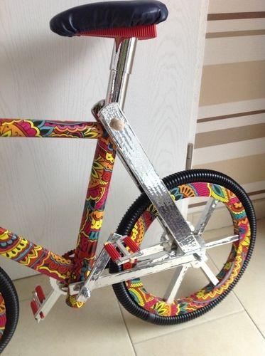 Makerist - Selbstkonstruiertes Fahrrad aus Pappe - Werkzimmer - 2