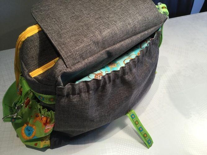 Makerist - Wickeltasche für meinen Enkel - Nähprojekte - 2