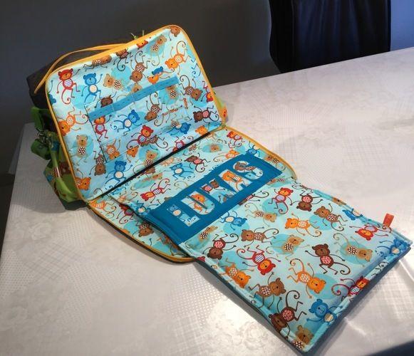 Makerist - Wickeltasche für meinen Enkel - Nähprojekte - 3