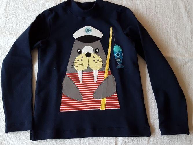 Makerist - Neue Shirts für Küstenkinder - Nähprojekte - 2