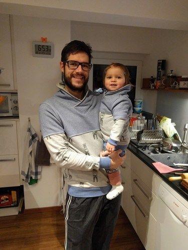 Makerist - Kuschel Pulli für Vater und Kind  - Nähprojekte - 2