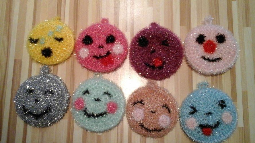 Makerist - DRÔLES D'ÉPONGES À CROCHETER POUR LA VAISSELLE - Créations de crochet - 1