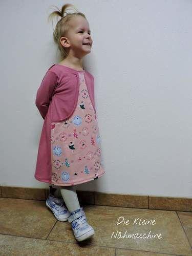 Makerist - Jerseykleidchen mit großer Bauchtasche - Nähprojekte - 1