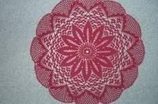 Makerist - Deckchen ca. 50 cm DM  - 1