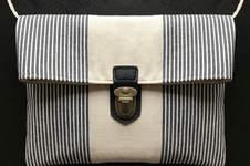 """Makerist - Handtasche """"Mira"""" mit Steckverschluss - 1"""