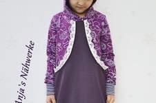 Makerist - Hoodiekleid Aurelia für meine Tochter aus Jersey. - 1