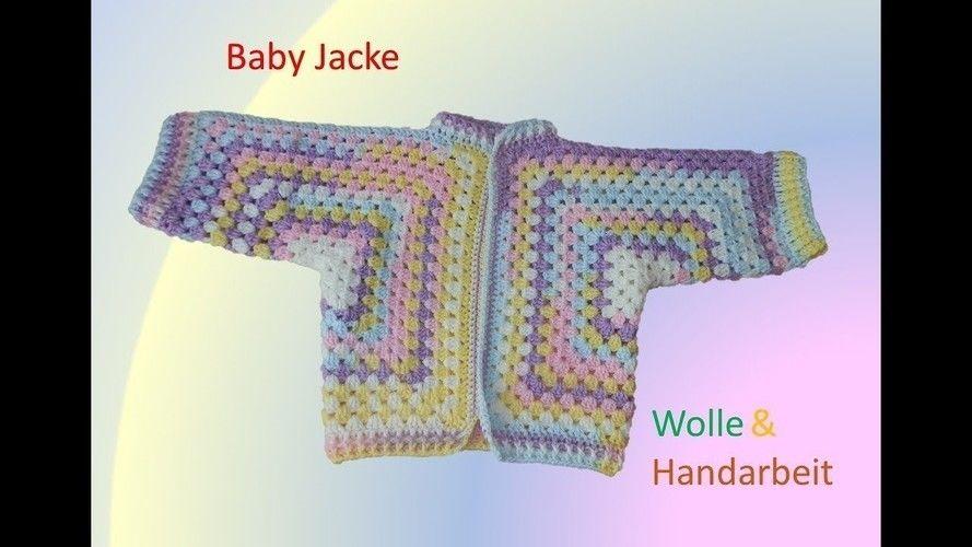 Makerist - Baby Jacke häkeln - Häkelprojekte - 1