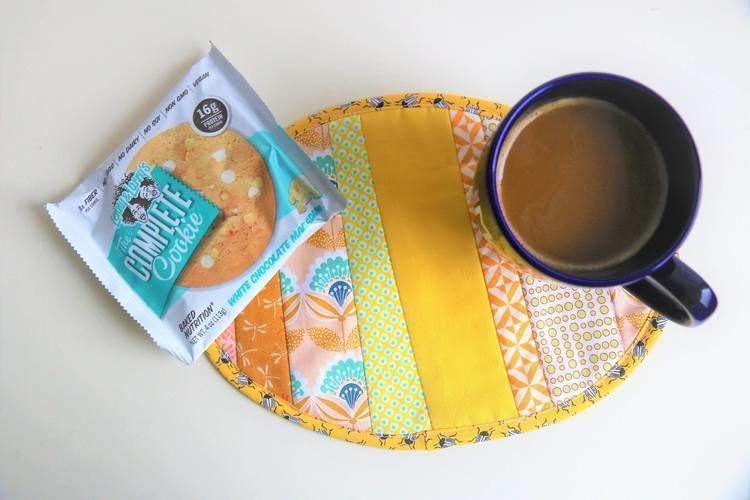 Makerist - Ovaler Mug Rug - Nähprojekte - 2