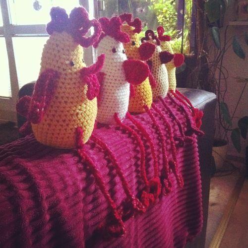 Makerist - Lustige Häkelhühner - Häkelprojekte - 2