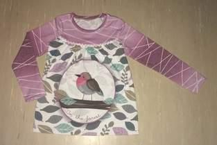 Makerist - Girly Shirts für meine Tochter in Größe 110 - 1
