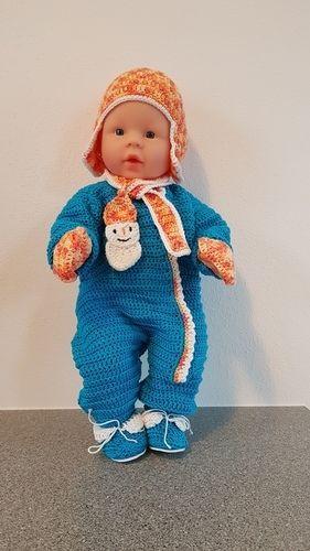 Makerist - Schianzug für Babypuppe - Häkelprojekte - 1