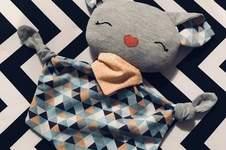 Makerist - Griselda, das Fledermaus-Schnuffeltuch - 1