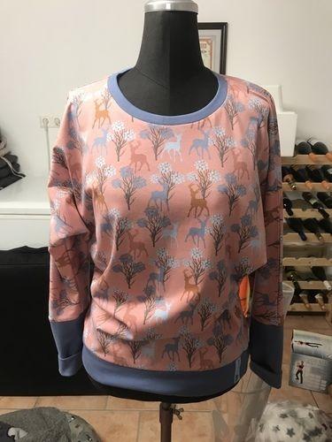 Makerist - Shirt mit Fledermausärmeln  - Nähprojekte - 1