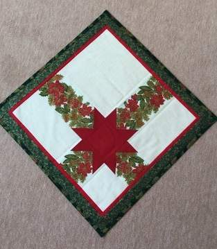Makerist - Eine Weihnachtsdecke. Diese habe ich für mich genäht - 1