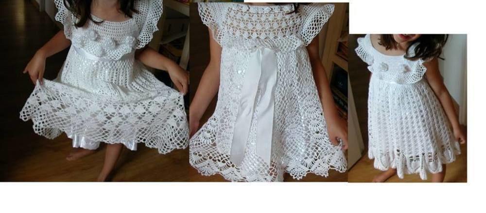 Makerist - petite  robes  ceremonie - Créations de crochet - 1