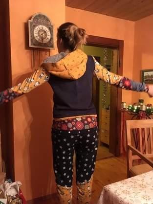 Traumanzug zu Weihnachten