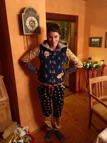 Makerist - Traumanzug zu Weihnachten - Nähprojekte - 2