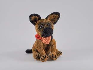 Makerist - Schäferhund Rex Häkelanleitung - 1