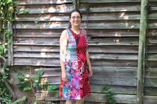 Makerist - ein Herbstkleid aus bunten Jerseyresten - 1