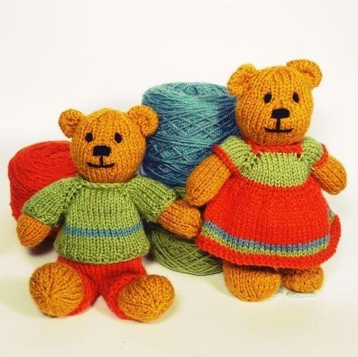 Makerist - Bitsy Teddy - Knitting Showcase - 1