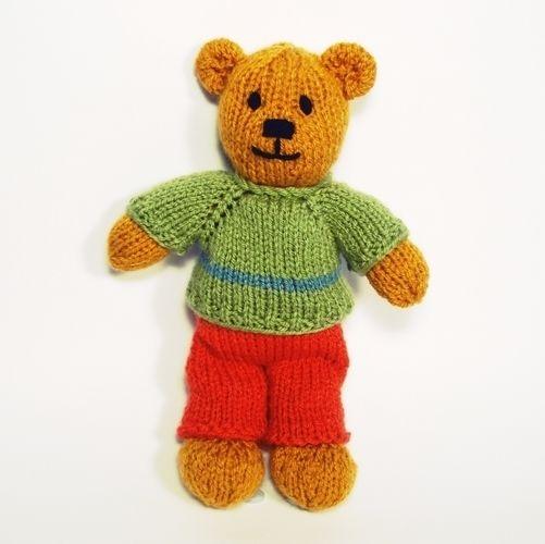 Makerist - Bitsy Teddy - Knitting Showcase - 2